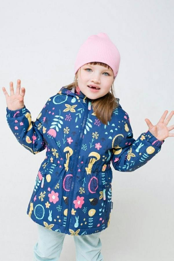 Куртка утепленная для девочки CROCKID