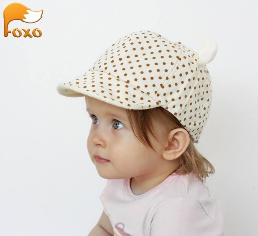 Кепка с ушками для девочки elFOXO