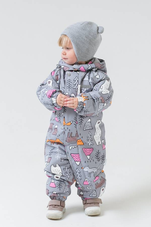 Зимний комбинезон для девочки CROCKID