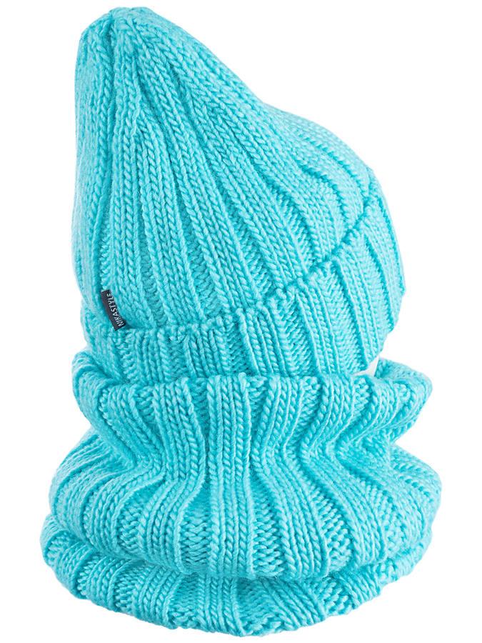 Комплект шапка и снуд NIKYSTALE
